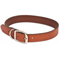Petmate 1 X 24 Brown Leather Dog Collar
