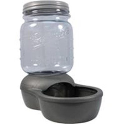 Petmate Mason Jar Replendish Dry Food Feeder
