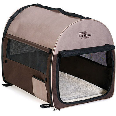 Doskocil Mfg Co Inc 25285 Taupe/Brown Portable Pet Home Extra Large