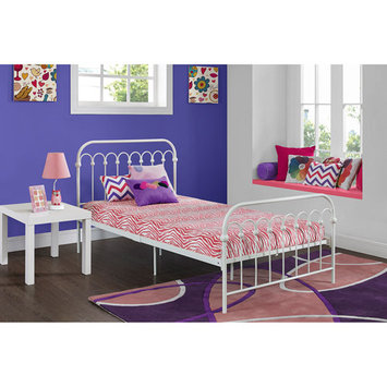 Ameriwood Signature Sleep CertiPUR 5 inch Memory Foam Full Size Youth Mattress - Zebra Pink