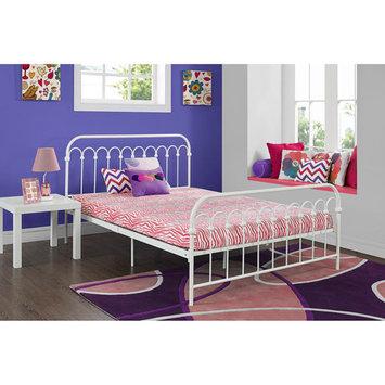 Ameriwood Signature Sleep CertiPUR 5 inch Memory Foam Twin Size Youth Mattress - Zebra Pink
