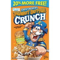 Captain Crunch Cap'n Crunch Peanut Butter Crunch Cereal, 20.6 oz