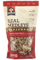 Quaker® Real Medleys Supergrains Granola Cinnamon Apple Walnut
