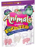 Keebler Animal Cookies Frosted