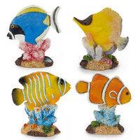 Penn-plax Inc. Penn Plax 20 Piece Glow Fish Aquarium Decor