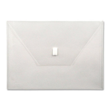 Lion Office Products Poly Filing Lion Poly Envelope, Velcro Closure