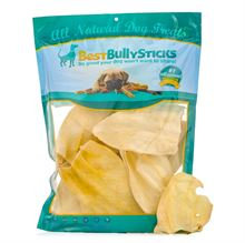Best Bully's Cow Ear Dog Treats - 25 Pack
