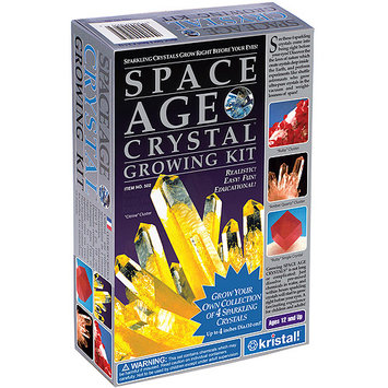 Kristal Space Age Crystal Growing Kit: Citrine, Ruby, Amber