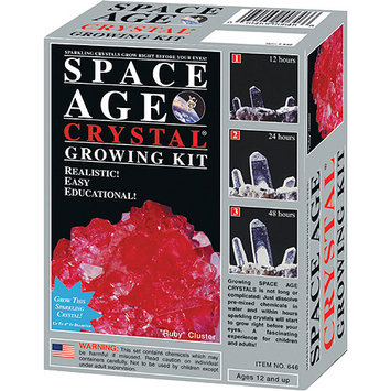 Kristal Space Age Crystal Growing Kit: Ruby (Mini Edition)