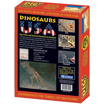 kristal DIG! & DISCOVER Dinosaurs USA Learning Kit