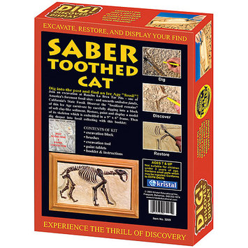 KRISTAL 3209 Dig! and Discover - Saber Toothed Cat