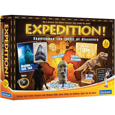 Kristal Ed Expedition: Multi-Kit - Discover 5 Treasures from Around the World
