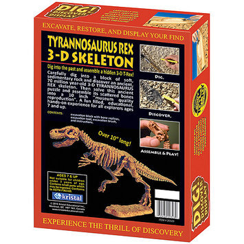 Kristal DIG! & DISCOVER 3D T-Rex Learning Kit