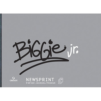 Canson C702-378 Biggie Jr. 18 x 24 Newsprint 50-Sheet Pad