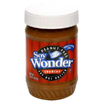 Soy Wonder Soybutter Crunchy - 17.6 oz - Vegan