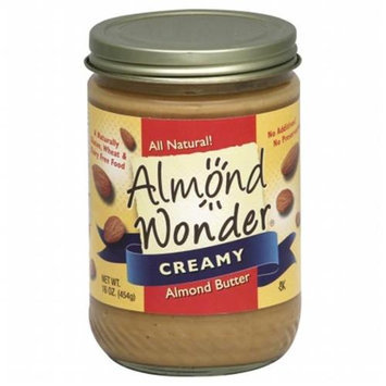 Almond Wonder Almond Butter 16oz Pack of 12