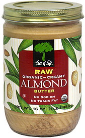 Tree Of Life Creamy Almond Nut Butter