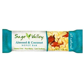 Sage Valley Honey Bar Almond & Coconut 1.4 oz