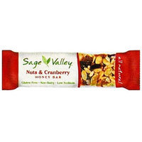 Sage Valley Honey Bar Nuts & Cranberry - 1.4 oz