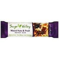 Sage Valley Honey Bar Mixed Nuts & Fruit - 1.4 oz