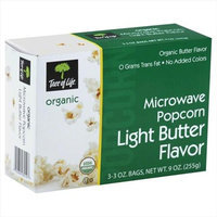 Tree of Life Organic Microwave Popcorn Light Butter 3 Bags