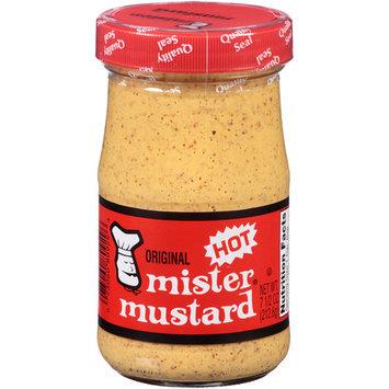 Mr Mustard Original Mr. Mustard Hot Mustard, 7.5 oz, (Pack of 6)