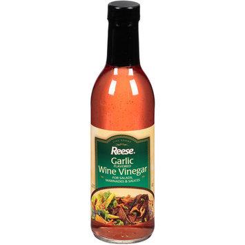 Reese Garlic Flavored Wine Vinegar, 12.7 fl oz, (Pack of 6)