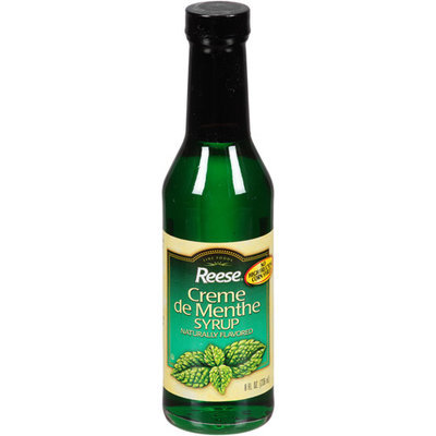 Reese Creme de Menthe Syrup, 8 fl oz (Pack of 12)