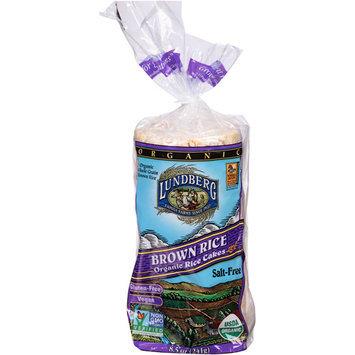 Lundberg Organic Brown Rice Cakes, 8.5 oz, (Pack of 12)