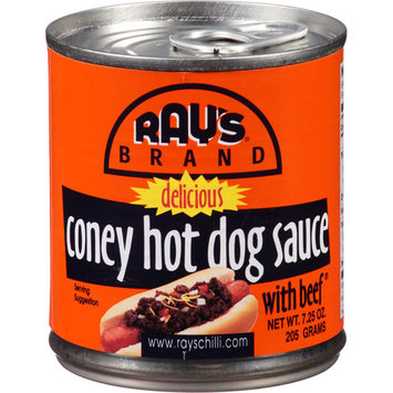 Ray's Chili Ray's Coney Hot Dog Sauce, 7.25 oz (Pack of 24)