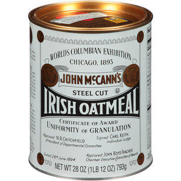 John McCann's Steel Cut Irish Oatmeal