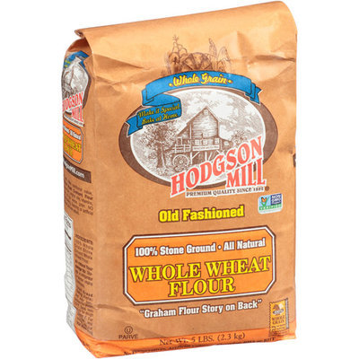 Hodgson Mill Old Fashioned Whole Wheat Flour, 5 lbs (Pack of 6)
