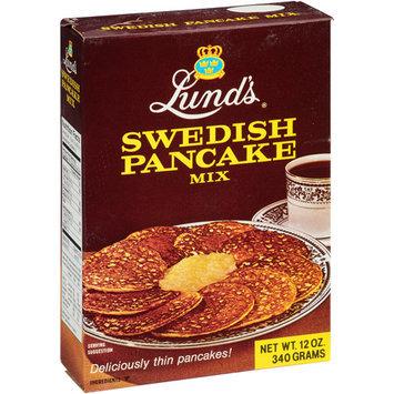 Lundberg Lund's Swedish Pancake Mix, 12 oz (Pack of 12)