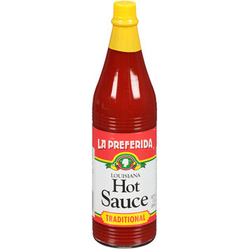 La Preferida Traditional Louisiana Hot Sauce, 12 oz (Pack of 12)