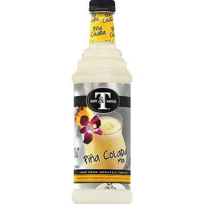 Mr & Mrs T Pina Colada Mix, 33.8 fl oz, (Pack of 6)