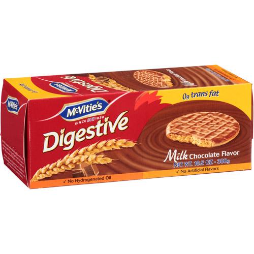 Mcvities McVitie's Milk Chocolate Digestive Biscuits, 10.5 oz, (Pack of 12)