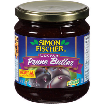 Simon Fischer Lekvar Prune Butter, 18 oz, (Pack of 6)