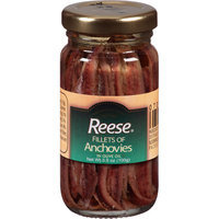 Reese Fillet of Anchovies in Olive Oil, 3.5 oz, (Pack of 12)