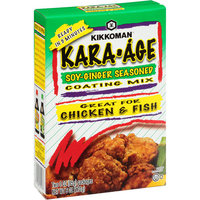 Kikkoman Kara-Age Soy-Ginger Seasoned Coating Mix, 6 oz (Pack of 12)