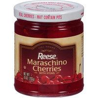 Reese Maraschino Cherries with Stems, 10 oz, (Pack of 12)