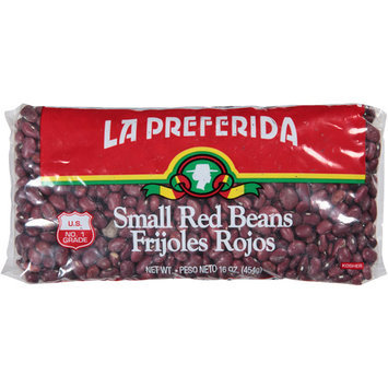 La Preferida Small Red Beans Frijoles Rojos, 16 oz, (Pack of 24)