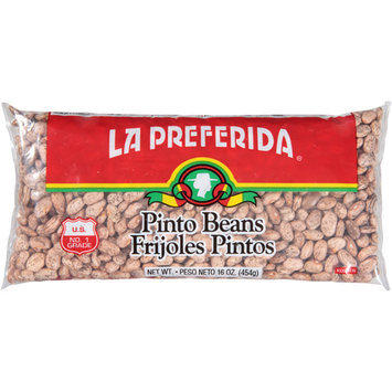 La Preferida Pinto Beans, 16 oz, (Pack of 24)