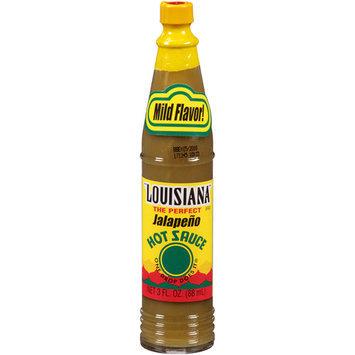 Louisiana Brand Louisiana Jalapeno Hot Sauce, 3 fl oz (Pack of 12)