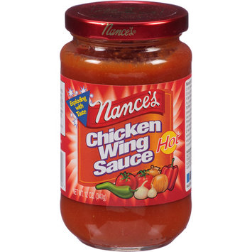 Nance's Hot Chicken Wing Sauce, 12 oz, (Pack of 12)