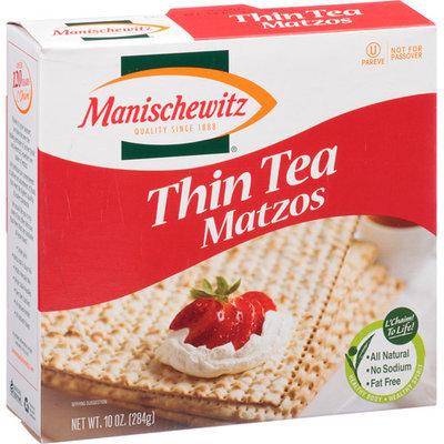 Manischewitz Thin Tea Matzos, 10 oz, (Pack of 12)