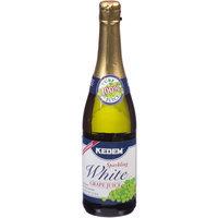 Kedem Sparkling White Grape Juice, 25.4 fl oz, (Pack of 12)