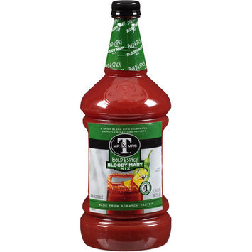 Mr & Mrs T Bold & Spicy Bloody Mary Mix, 59.2 fl oz, (Pack of 6)