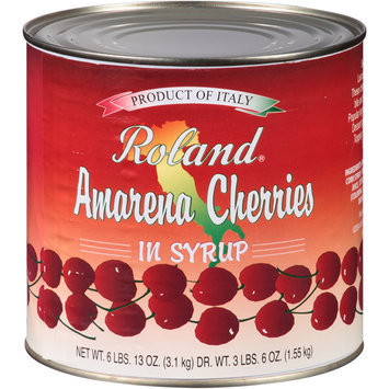 Roland Amarena Cherries in Syrup, 109 oz, (Pack of 2)