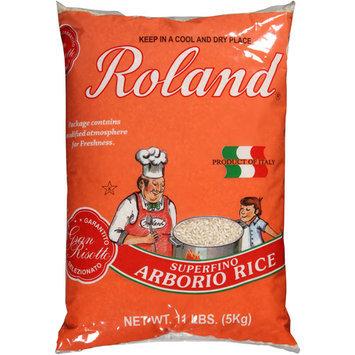 Roland Superfino Arborio Rice, 11 lbs, (Pack of 4)