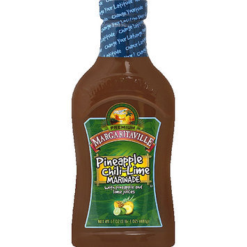 Margaritaville Pineapple Chili-Lime Marinade, 17 oz, (Pack of 6)